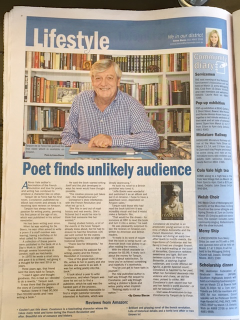 Poet Finds Unlikely Audience